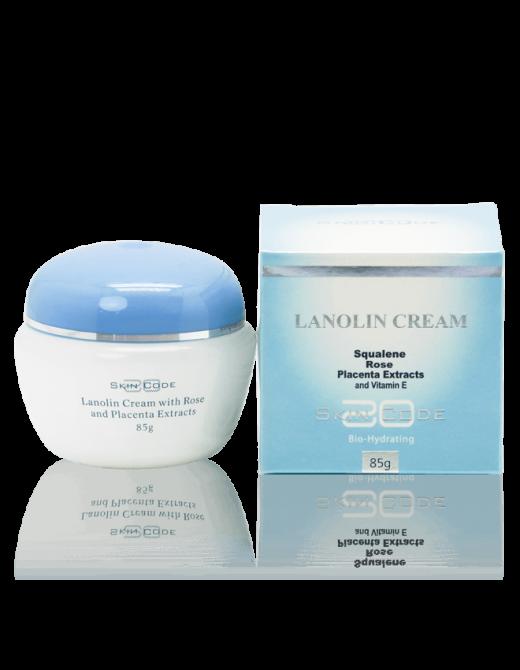 SKINCODE lanolin cream box